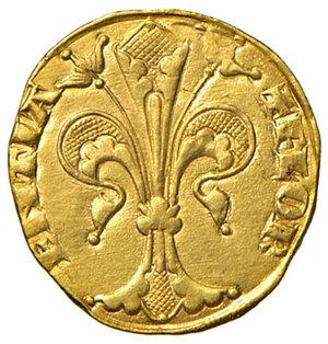 obverse: Firenze. Repubblica sec. XIII-1532. Fiorino IV serie 1267-1303 (signori della zecca sconosciuti; segno ghianda) AV gr. 3,48. Bernocchi 250/52. MIR 4/50. SPL/q.SPL