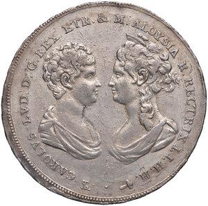 obverse: Firenze. Carlo Ludovico di Borbone reggenza di Maria Luigia (1803-1807). Francescone 1807 AG. Pagani 31. MIR 425/2. BB/Buon BB