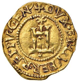 obverse: Genova. Repubblica. Dogi biennali (1528-1797). Serie della prima fase: 1528-1541. Scudo del sole (sigla A-S) AV gr. 3,33. Lunardi 190. MIR 185/4. Raro. q.SPL