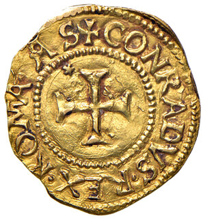 reverse: Genova. Repubblica. Dogi biennali (1528-1797). Serie della prima fase: 1528-1541. Scudo del sole (sigla A-S) AV gr. 3,33. Lunardi 190. MIR 185/4. Raro. q.SPL