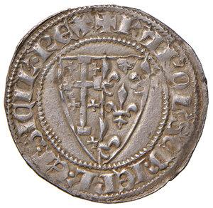 obverse: Napoli. Carlo II d Angiò (1285-1309). Saluto AG gr. 3,25. Pannuti-Riccio 2. MIR 23. Migliore di BB