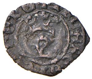 obverse: Napoli. Giovanna II di Durazzo (1414-1435). Denaro MI gr. 0,60. Pannuti-Riccio 1. MIR 47. Molto raro. BB