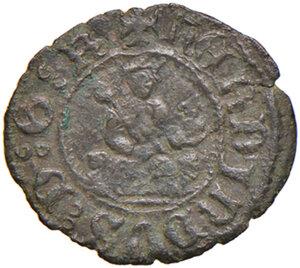obverse: Napoli. Ferdinando I d Aragona (1458-1494). Tornese MI gr. 0,60. Pannuti-Riccio 26. MIR 80. Jordi Vall-Losera i Tarrés 186a. Raro. Buon BB