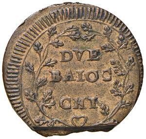 reverse: Ancona. Repubblica romana (1798-1799). Da 2 baiocchi CU gr. 17,24. Pagani 1. Muntoni 24. Bruni 4. Dubbini-Mancinelli pag. 209 (2° tipo). Villoresi -. q.SPL