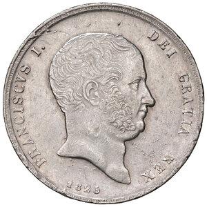 obverse: Napoli. Francesco I di Borbone (1825-1830). Da 120 grana o piastra 1825 AG. Pagani 109. Pannuti-Riccio 6. MIR 476. q.SPL