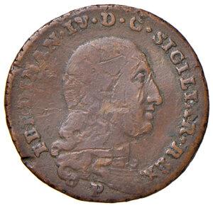 obverse: Orbetello. Reali presidi di Toscana. Ferdinando IV di Borbone (1759-1816). Da 4 quattrini 1798 CU gr. 6,50. Pannuti-Riccio 3. MIR 353/4. Rara. q.BB