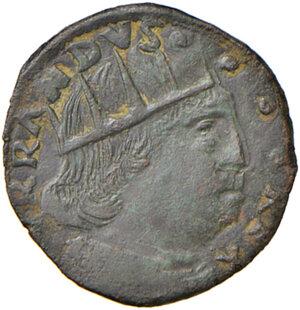 obverse: Aquila. Ferdinando I d Aragona (1458-1494). Cavallo AE gr. 1,86. D.A. 102. MIR 94. Jordi Vall-Losera i Tarrés 204. SPL