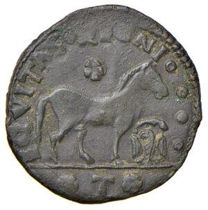 reverse: Aquila. Ferdinando I d Aragona (1458-1494). Cavallo AE gr. 1,86. D.A. 102. MIR 94. Jordi Vall-Losera i Tarrés 204. SPL