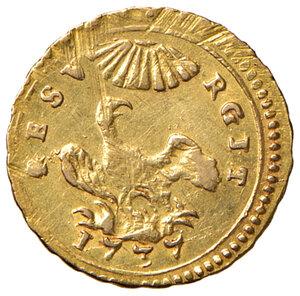 reverse: Palermo. Carlo di Borbone (1734-1759). Oncia 1737 AV gr. 4,41. Spahr 58. MIR 564/3. Migliore di BB