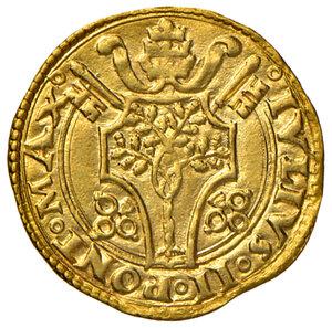 obverse: Roma. Giulio II (1503-1513). Fiorino di Camera AV gr. 3,37. Muntoni 15. MIR 552/1. Bello SPL