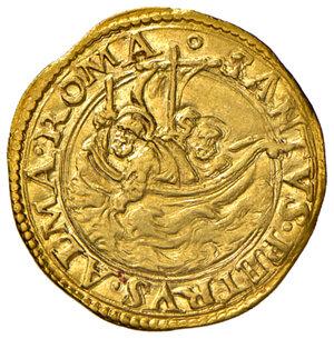 reverse: Roma. Giulio II (1503-1513). Fiorino di Camera AV gr. 3,37. Muntoni 15. MIR 552/1. Bello SPL