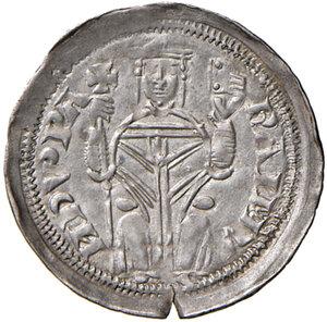 obverse: Aquileia. Raimondo della Torre (1273-1298). Denaro AG gr. 1,08. Bernardi 30. MEC12, 856. q.SPL