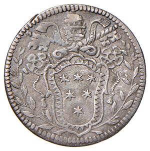 reverse: Roma. Clemente X (1670-1676). Grosso AG gr. 1,46. Muntoni 44. MIR 1966/1. Buon BB