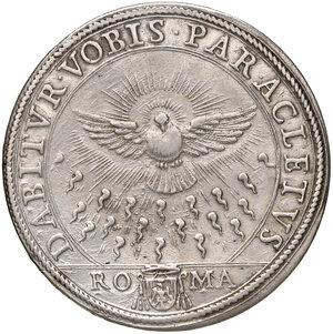 reverse: Roma. Sede Vacante 1676 (Camerlengo card. Paluzzo Paluzzi-Altieri). Piastra 1676 AG gr. 31,86. Muntoni 1. MIR 1985/1. SPL/q.SPL