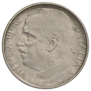obverse: Savoia. Vittorio Emanuele III re d Italia (1900-1946). Da 50 centesimi 1924 rigato NI. Pagani 805. Rara. BB