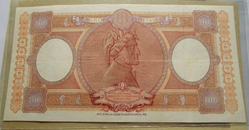 reverse: Repubblica Italiana - 10000 LIRE REPUBBLICHE MARINARE 10-02-1949. NC