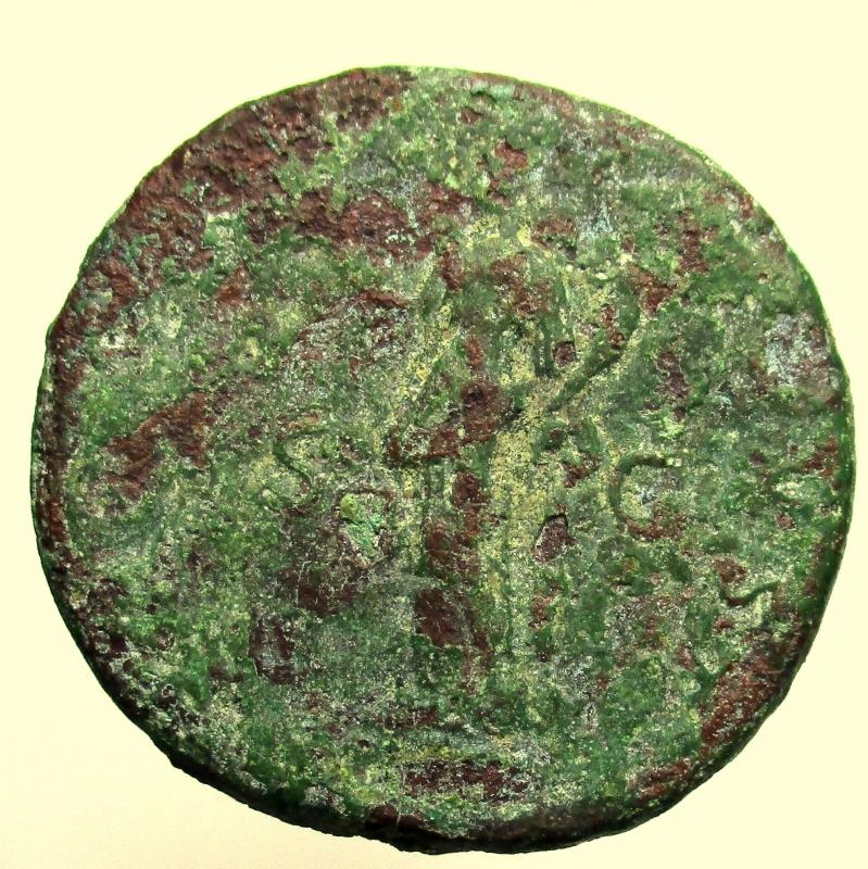 reverse: Impero Romano. Traiano. 98-117 d.C. Sesterzio.