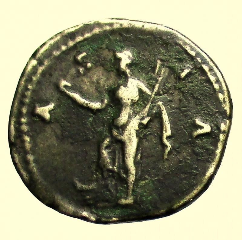 reverse: Impero Romano. Adriano. 117-138 d.C. Denario