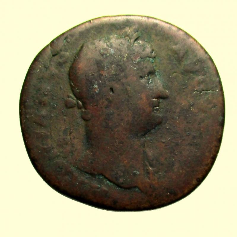 obverse: Impero Romano. Sesterzio Adriano 117-138 d.C.