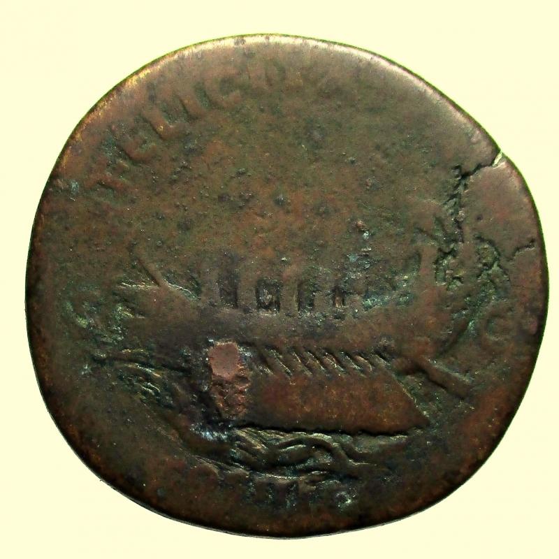 reverse: Impero Romano. Sesterzio Adriano 117-138 d.C.