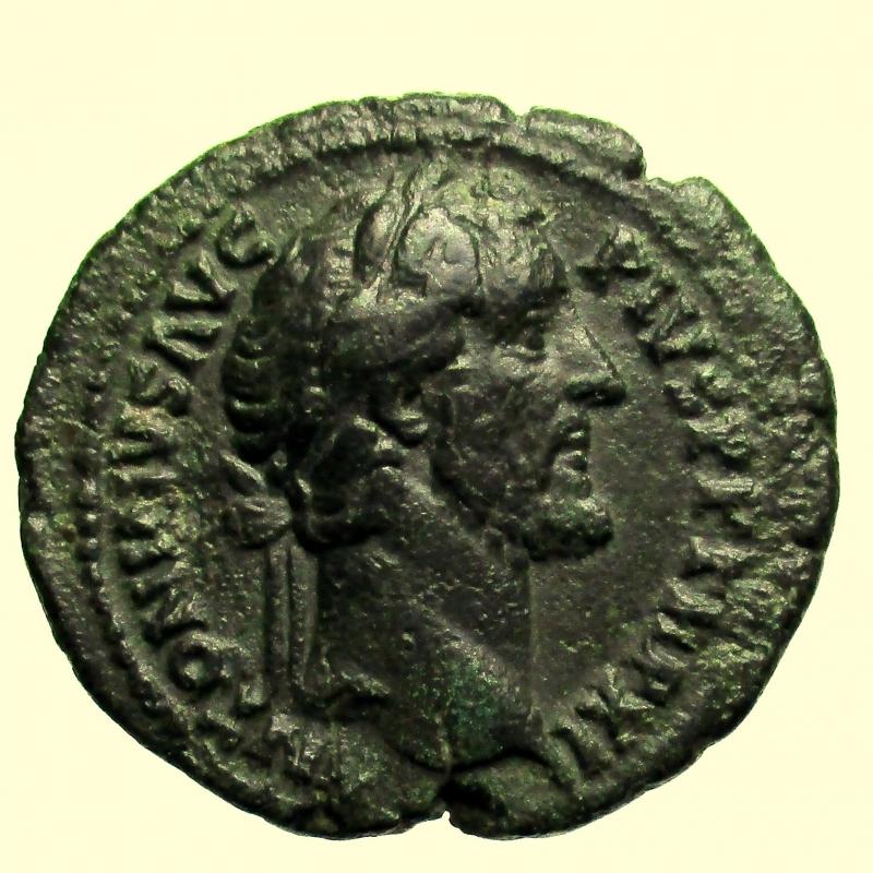 obverse: Impero Romano. Antonino Pio. 138-161 d.C. Asse. Ae.