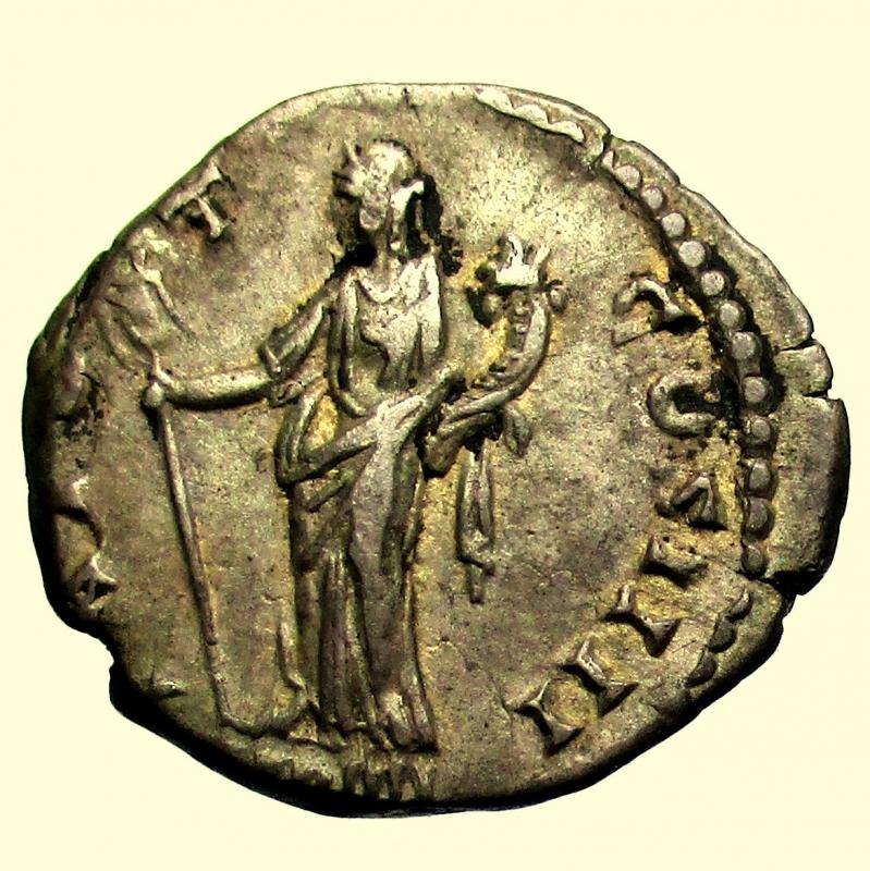 reverse: Impero Romano. Antonino Pio. 138-161 d.C. Roma 145-161 d.C.