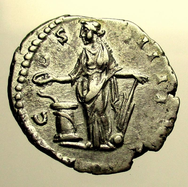 reverse: Impero Romano. Antonino Pio. 138-161 d.C. Denario