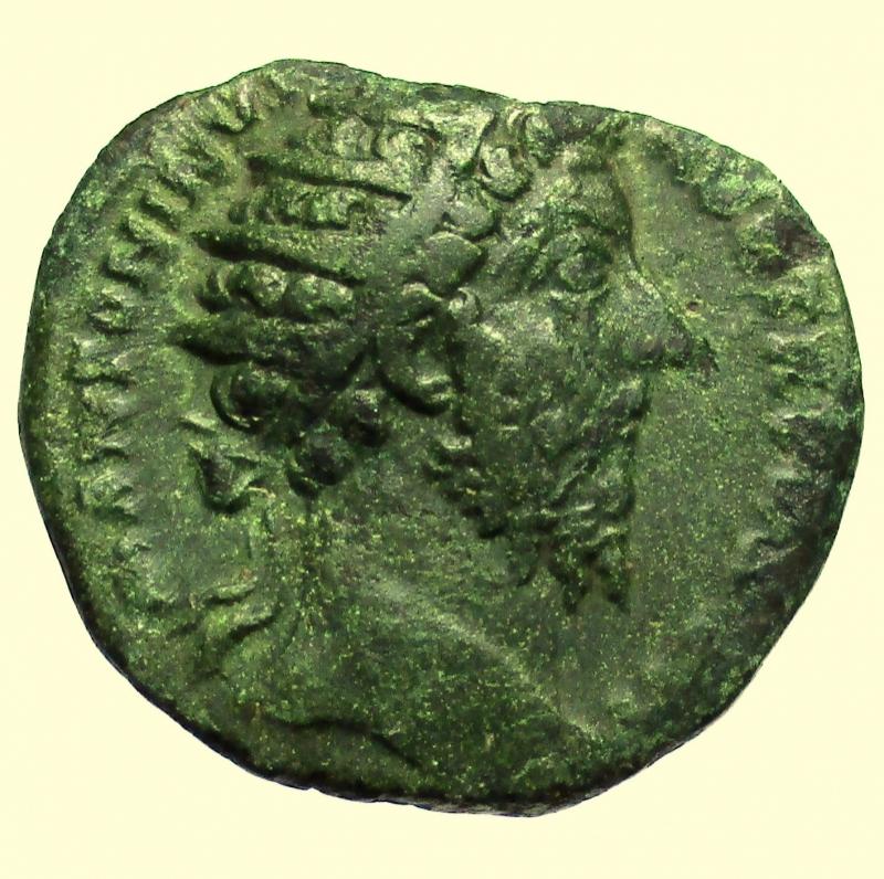 obverse: Impero Romano. Marco Aurelio 161-180 d.C Dupondio