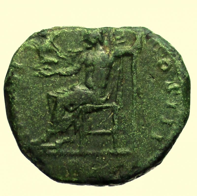 reverse: Impero Romano. Marco Aurelio 161-180 d.C Dupondio