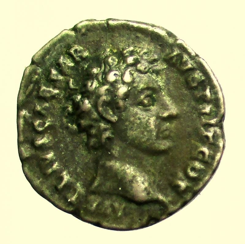 obverse: Impero Romano. Marco Aurelio da cesare 139-161 d.C. Denario.