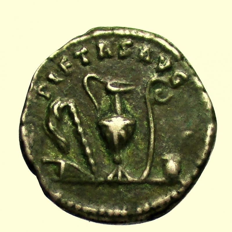 reverse: Impero Romano. Marco Aurelio da cesare 139-161 d.C. Denario.