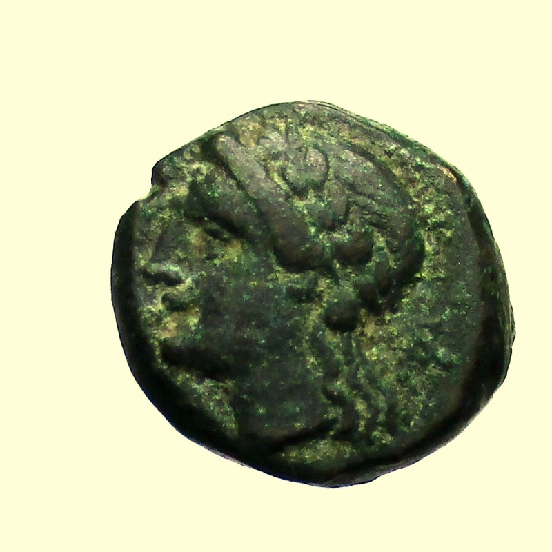 obverse: Mondo Greco. Lucania, Thourioi 280-250  a.C.