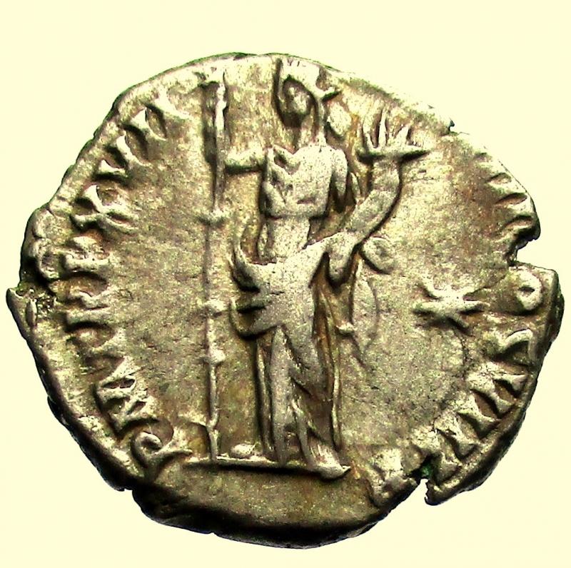 reverse: Impero Romano Commodo 177-192 d.C. Denario Roma