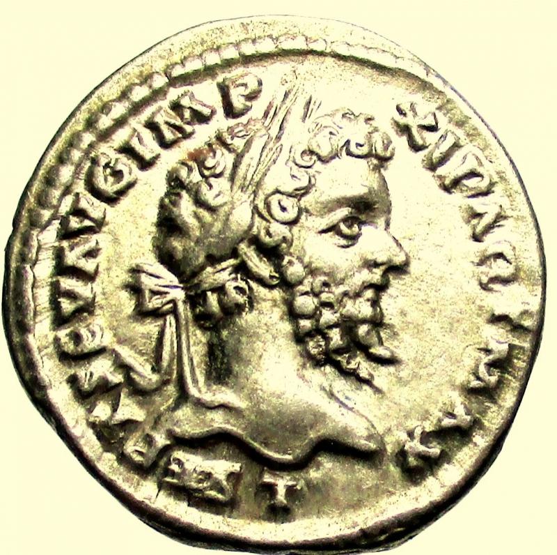 obverse: Impero Romano Settimio Severo. 193-211 d.C. Denario Laodicea
