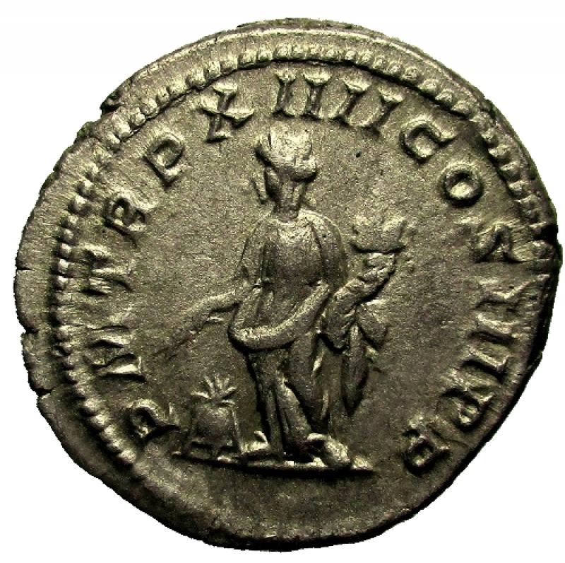 reverse: Impero Romano. Settimio Severo. 193-211 d.C. Denario Ag.