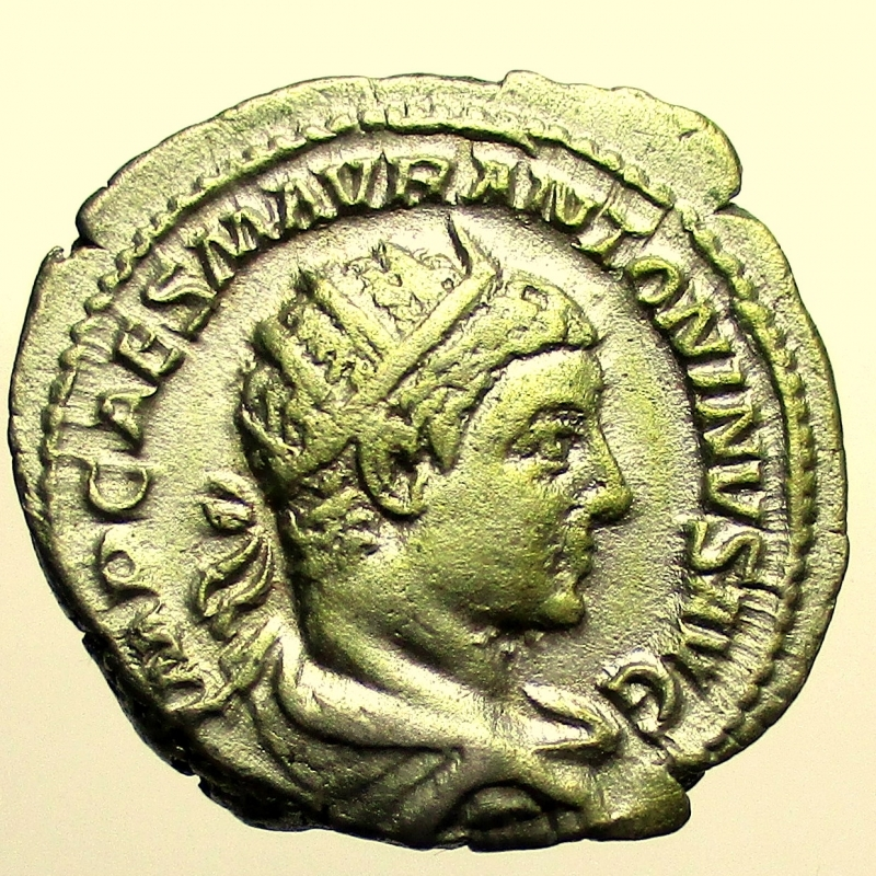 obverse: Impero Romano Eliogabalo. 218-222 d.C. Antoniniano.