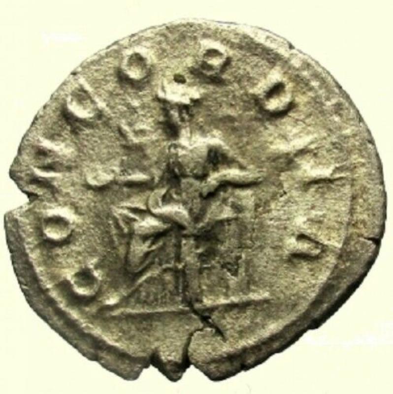 reverse: Impero Romano. Giulia Paula. Prima moglie di Eliogabalo. 218 d.C. Denario
