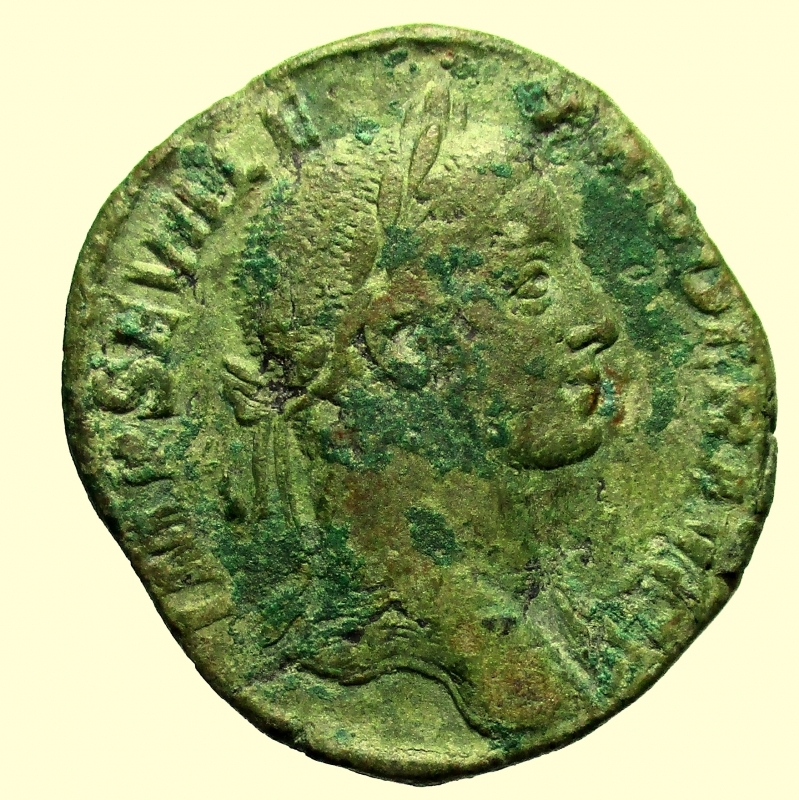 obverse: Impero Romano. Alessandro Severo. 222-235 d.C. Sesterzio