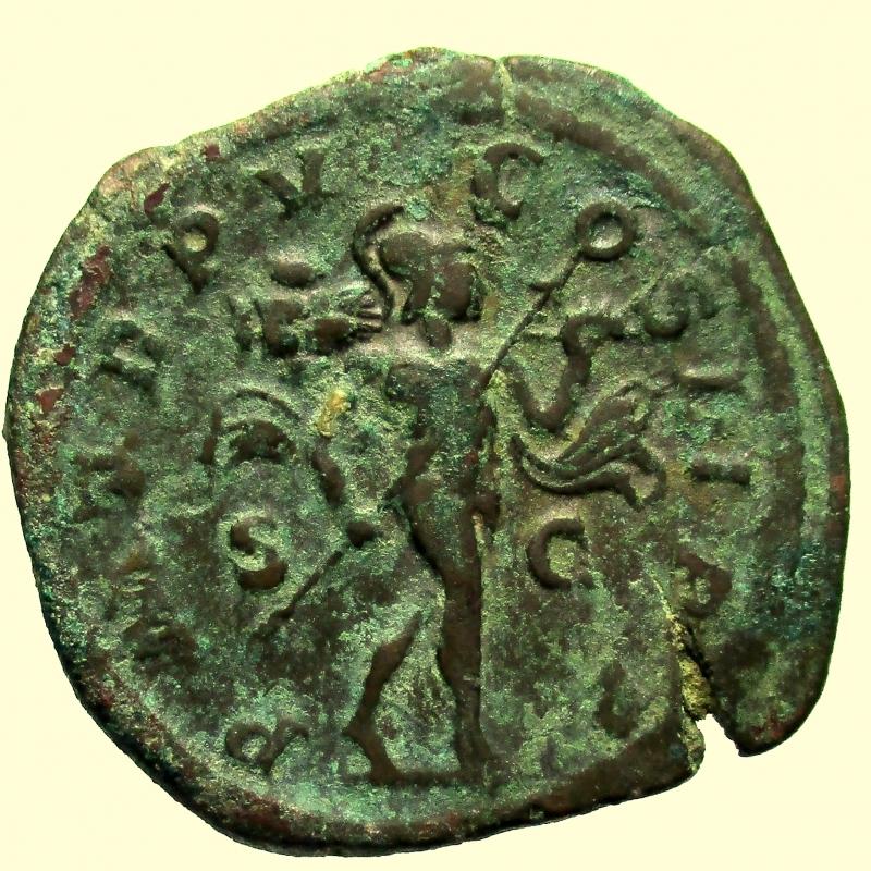 reverse: Impero Romano. Alessandro Severo. 222-235 d.C. Sesterzio