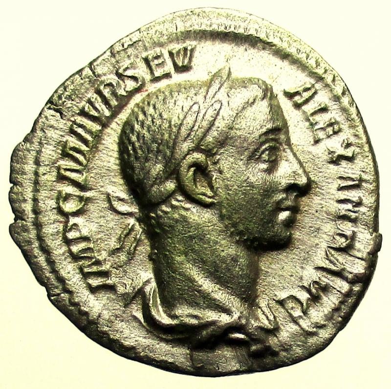 obverse: Impero Romano. Alessandro Severo. 222-235 d.C. Denario