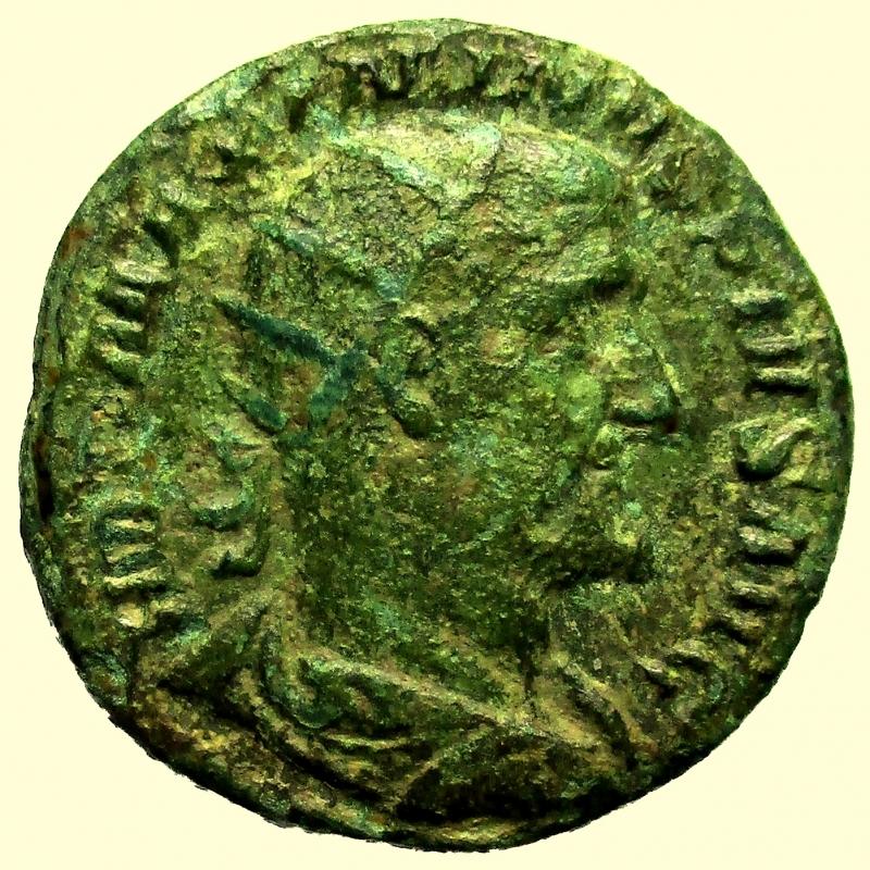 obverse: Impero Romano Massimino I 235-238 d.C. Dupondio