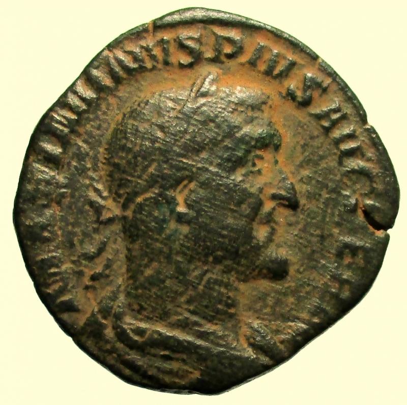 obverse: Impero Romano. Massimino I. 235-238 d.C. Sesterzio.