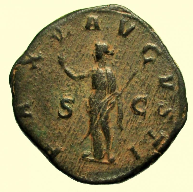 reverse: Impero Romano. Massimino I. 235-238 d.C. Sesterzio.