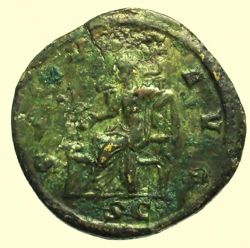 reverse: Impero Romano. Gordiano III. 238-244 d.C. Dupondio.