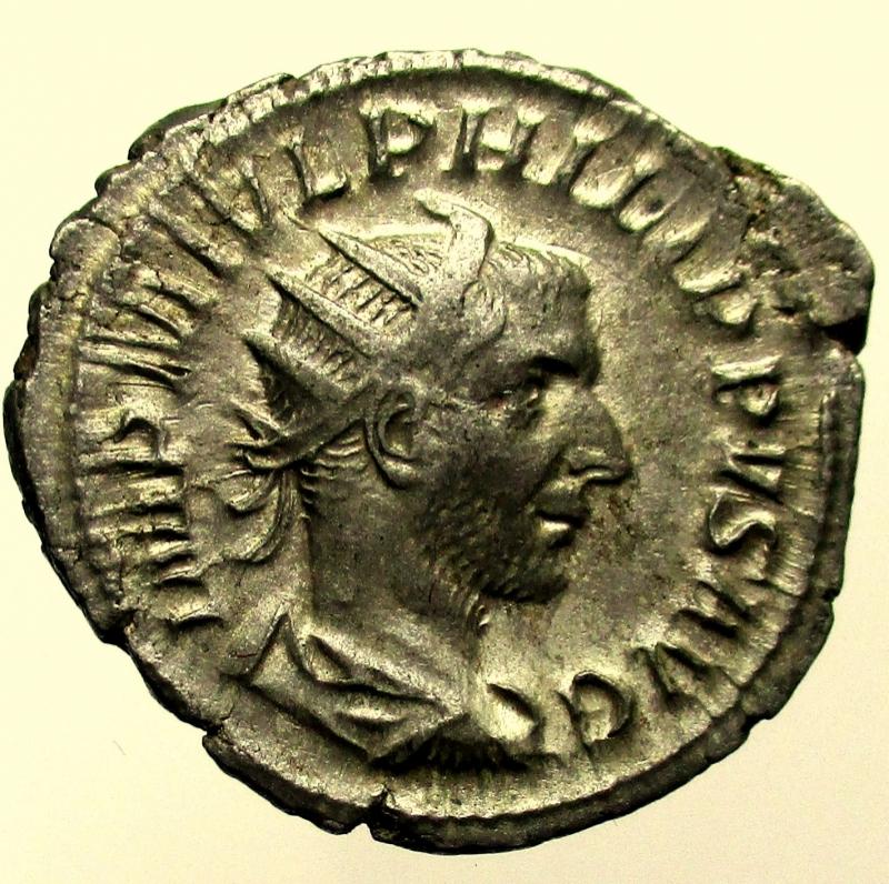 obverse: Impero Romano. Filippo I. 244-249 d.C. Antoniniano