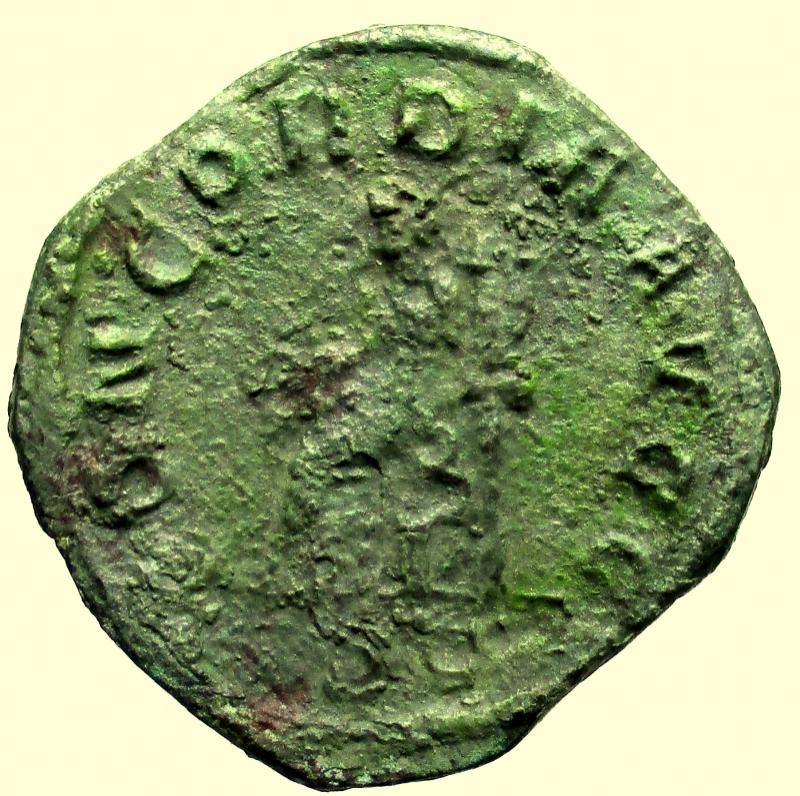 reverse: Impero Romano. Otacilia Severa. (Filippo I, 244-249 d.C.). Sesterzio.