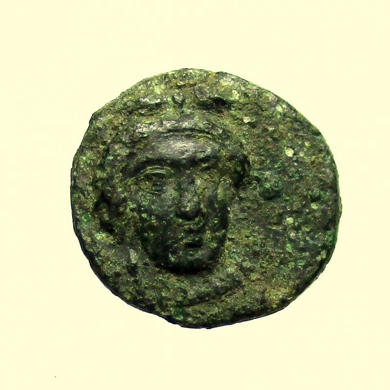 obverse: Mondo Greco. Sicilia. Gela. Circa 339-310 a.C.