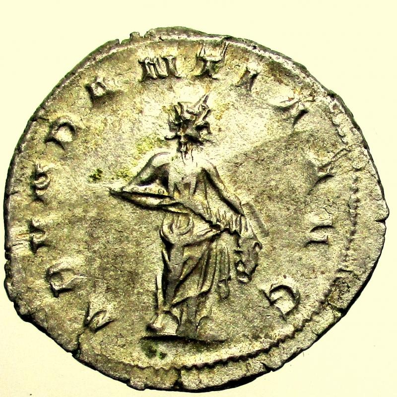 reverse: Impero Romano. Traiano Decio. 249-251 d.C. Antoniniano.
