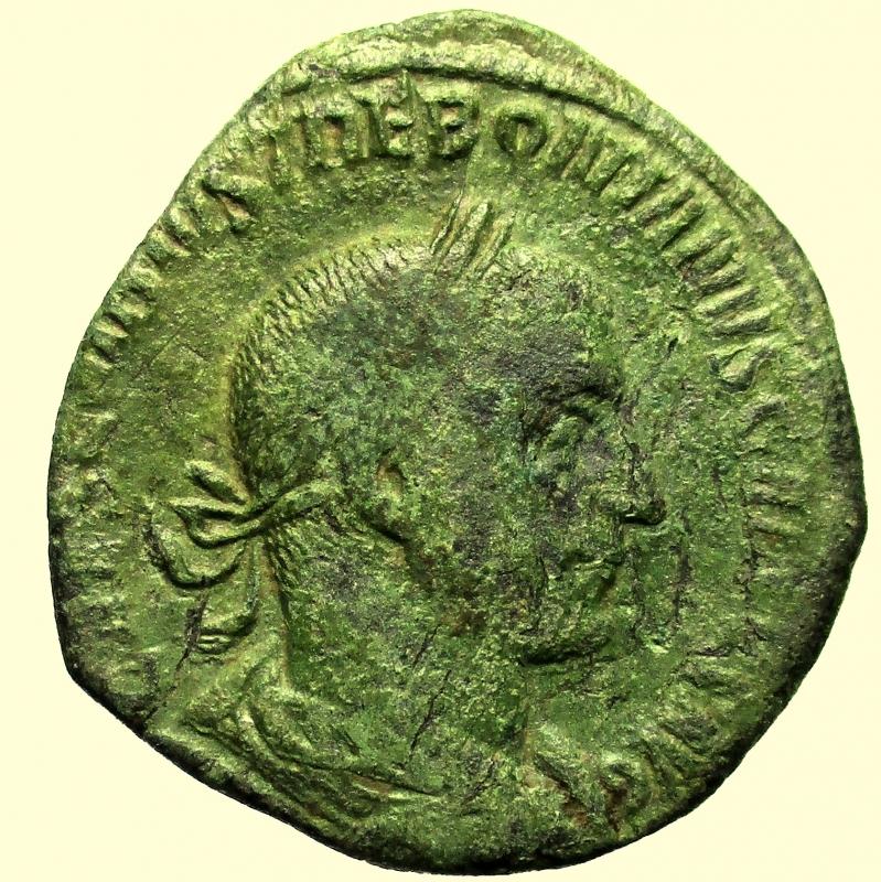 obverse: Impero Romano. Treboniano Gallo. 251-253 d.C.
