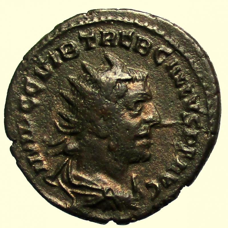 obverse: Impero Romano. Treboniano Gallo. 251-253 d.C. Antoniniano